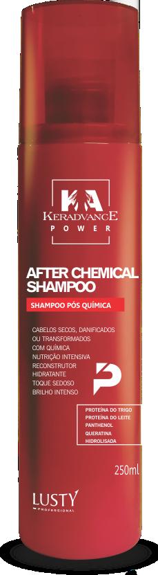 Nº 2 After Chemical Shampoo Profissional Pós Química - 250 ml