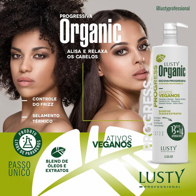 Organic Progress  (Escova Progressiva Profissional) 1000 ml