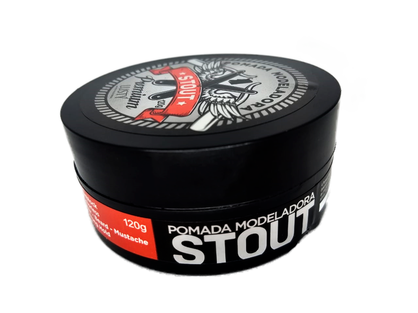 Stout  Premium - Pomada Modeladora Profissional  120 g