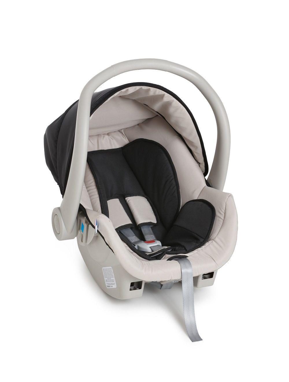 Bebê Conforto Cocoon Galzerano Preto/Bege