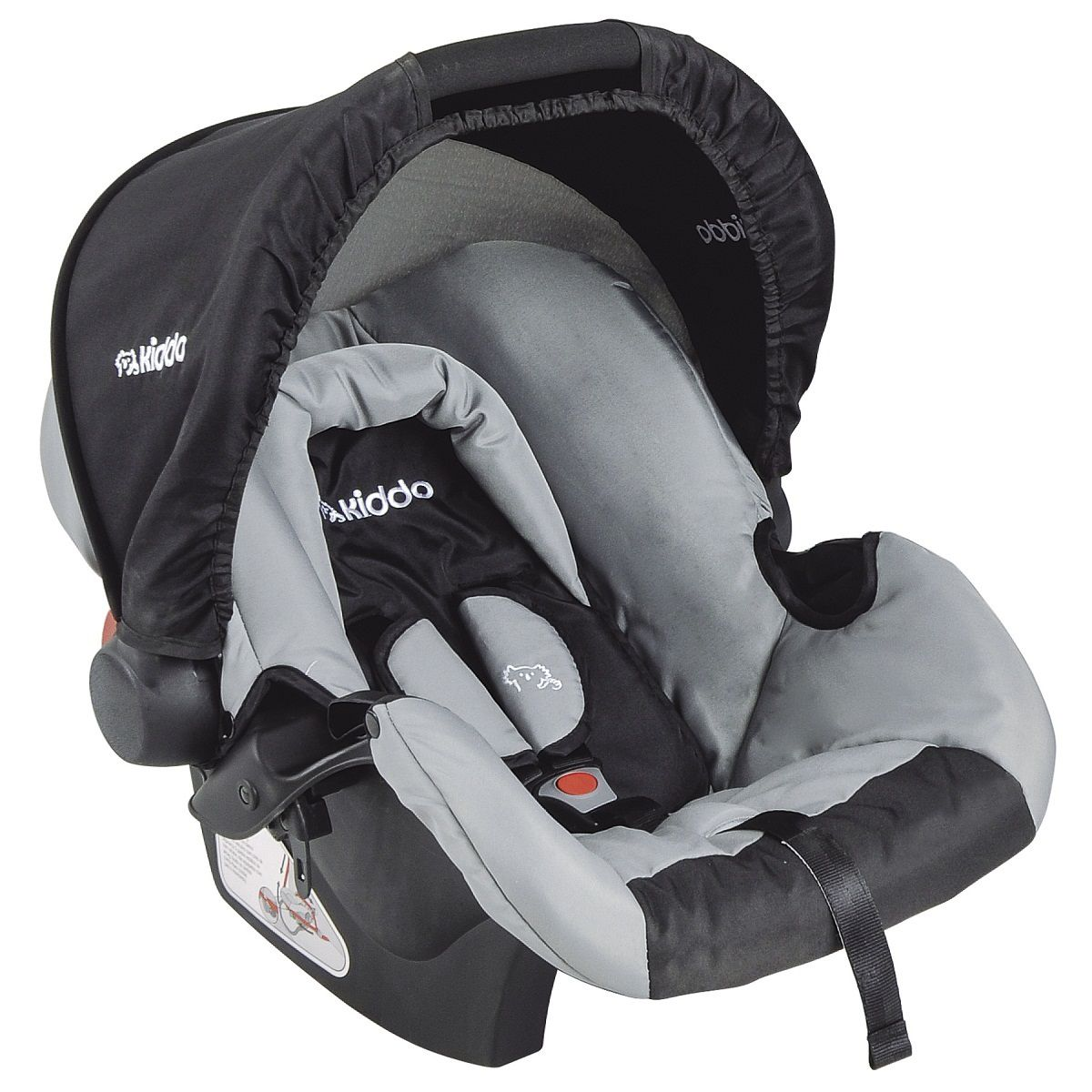Bebê Conforto Cozycot 404C Kiddo Preto/Cinza