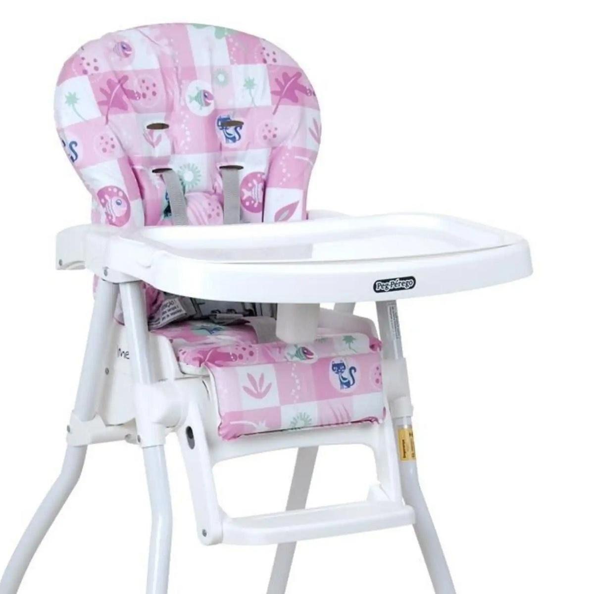 fc2b117959fb Cadeira Para Alimentação Merenda Burigotto Peixinho Rosa - bebeninho