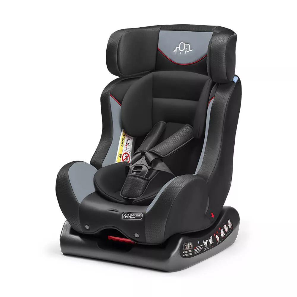 Cadeira Para Auto Maestro a 25 Kg Cinza Multikids