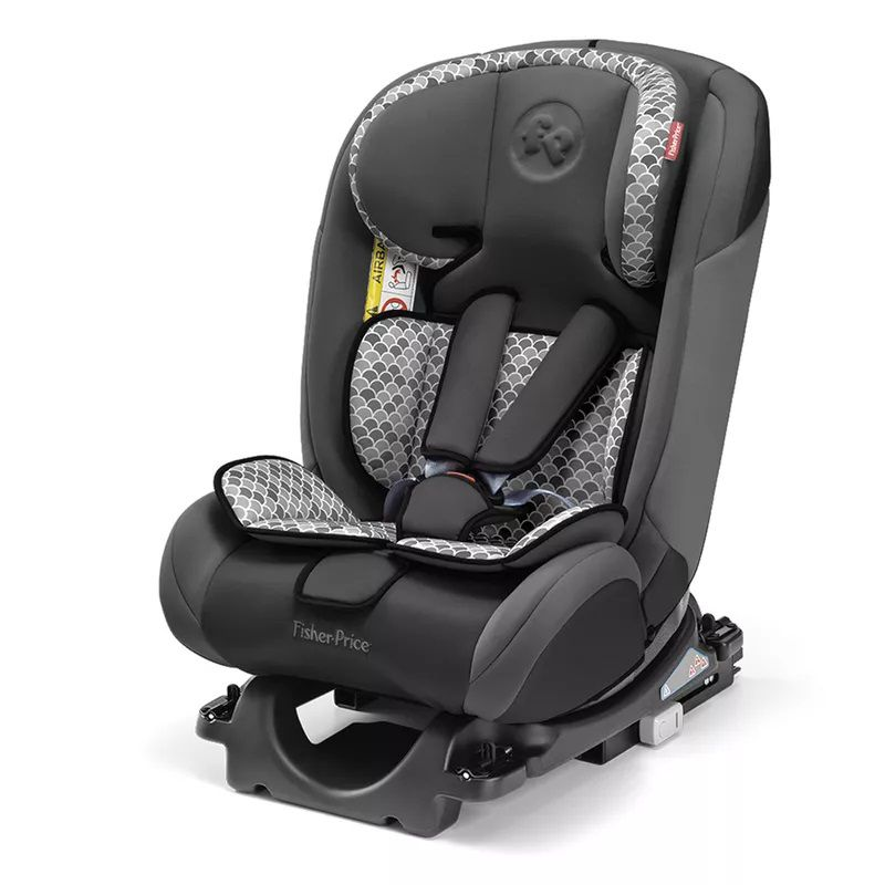 Cadeira para Carro All-Stages Fix Cinza Fisher Price