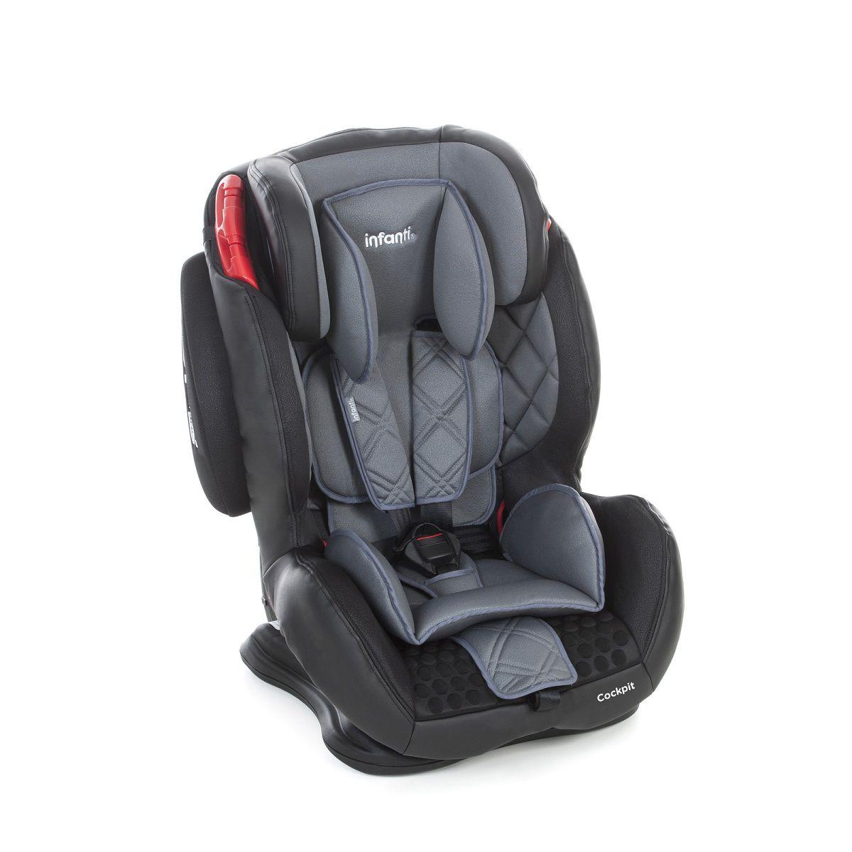 Cadeira para Carro Cockpit Infanti Grafite