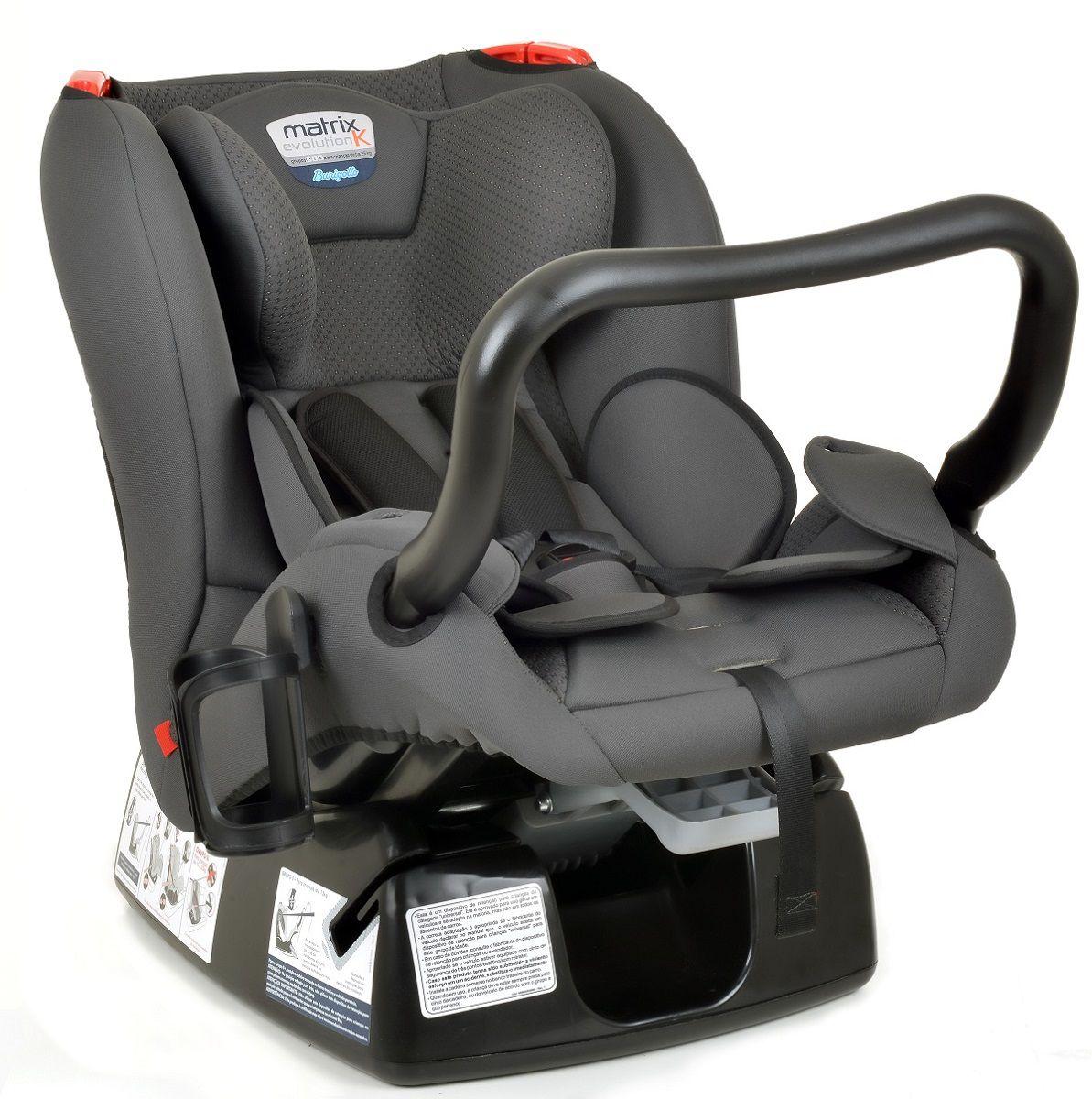 Cadeira Para Carro Matrix Evolution K New Memphis Burigotto