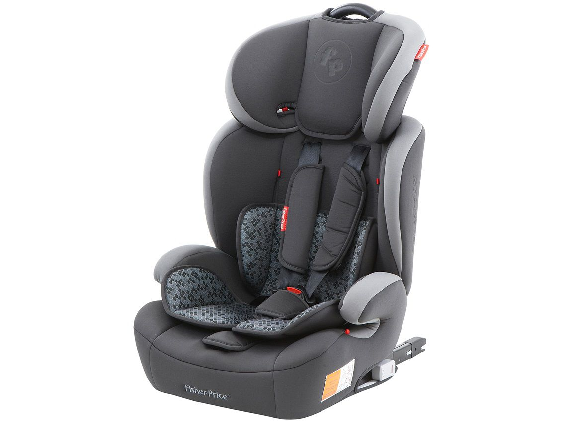 Cadeira para Carro Safemax Fix Fisher Price Cinza