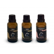 Kit Óleos Vegetais - Argan 30 ml, Jojoba 30ml e Rosa Mosqueta 30ml