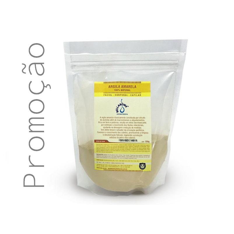 ARGILA AMARELA - 250g  - Bellarome Aromaterapia