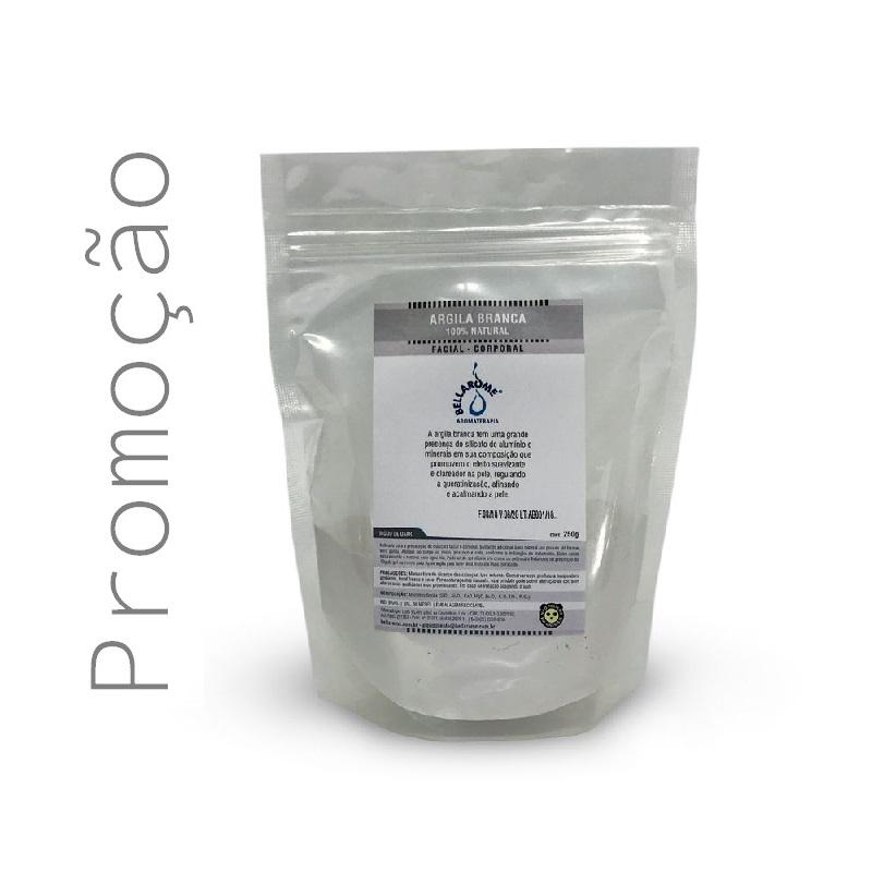 ARGILA BRANCA - 250g  - Bellarome Aromaterapia
