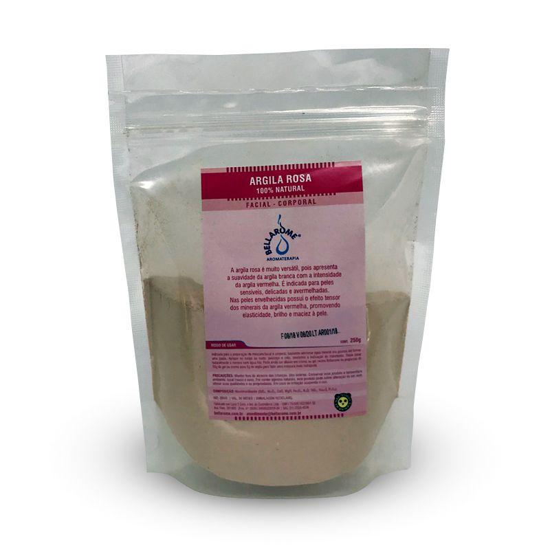 ARGILA ROSA - 1000g  - Bellarome Aromaterapia