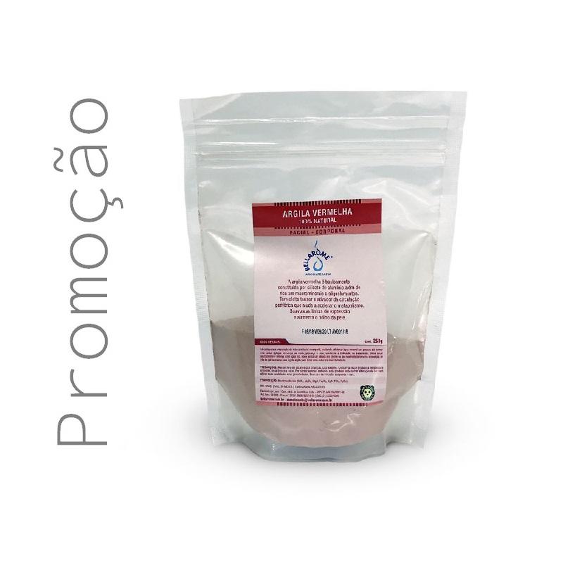 ARGILA VERMELHA - 250g  - Bellarome Aromaterapia