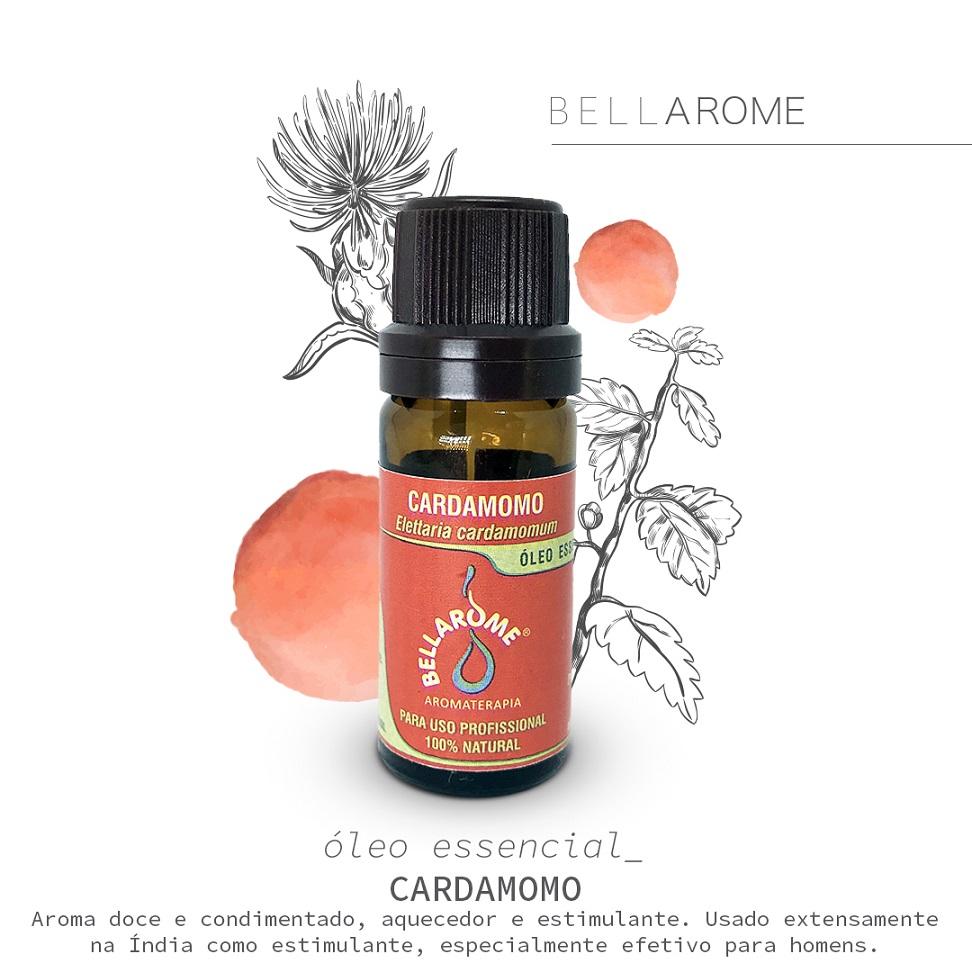 CARDAMOMO - 10ml  - Bellarome Aromaterapia