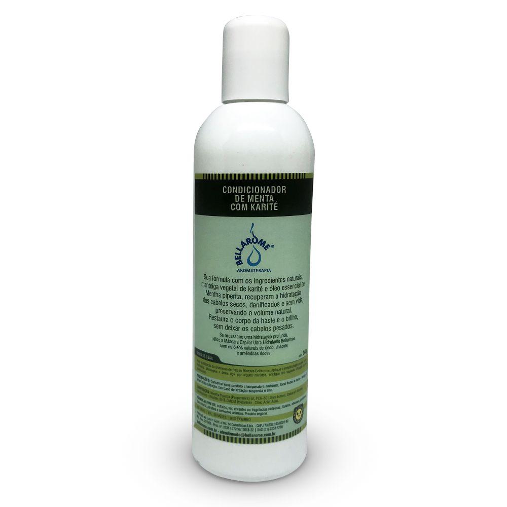 Condicionador de Menta com Karité - 240ml  - Bellarome Aromaterapia