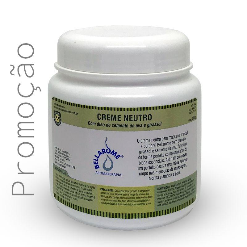 Creme Neutro - 500g  - Bellarome Aromaterapia