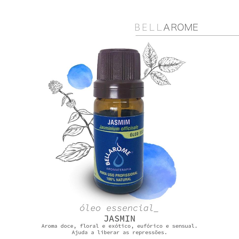 JASMIM 10% - 10ml  - Bellarome Aromaterapia