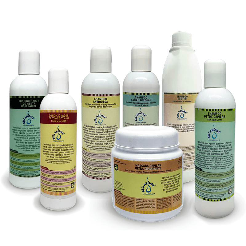 Kit Capilar Bellarome  - Bellarome Aromaterapia