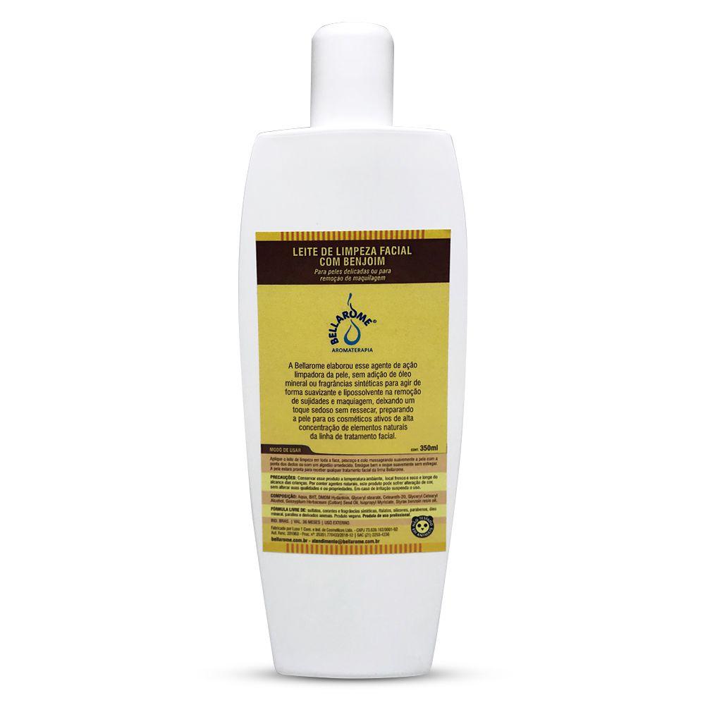 Leite de Limpeza Facial com Benjoim - 350ml  - Bellarome Aromaterapia