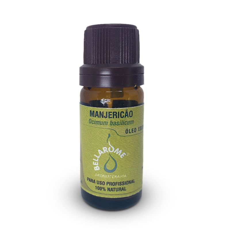 MANJERICÃO - 10ml  - Bellarome Aromaterapia