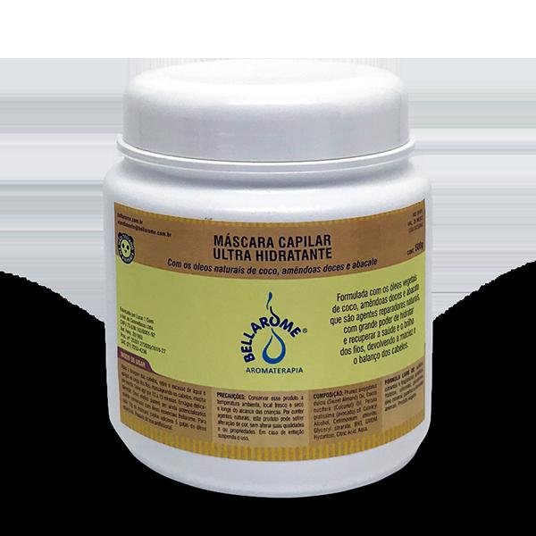 Máscara Capilar Ultra Hidratande - 1000g   - Bellarome Aromaterapia