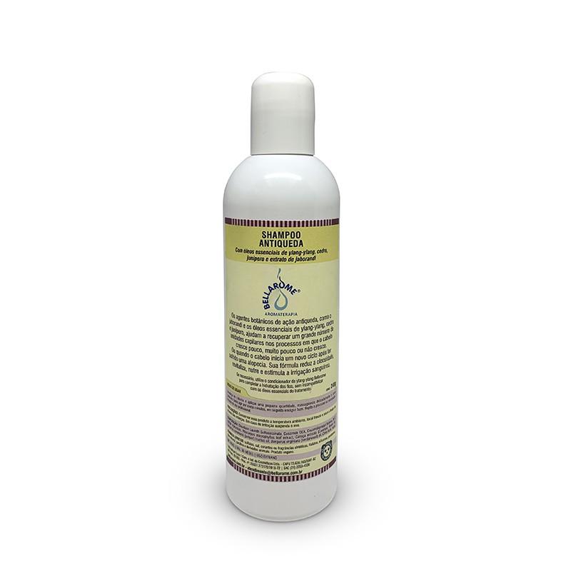 Shampoo Antiqueda - 240ml  - Bellarome Aromaterapia