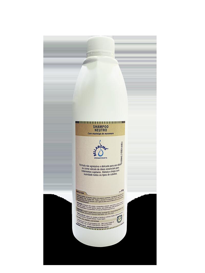 Shampoo Neutro com Manteiga de Murumuru - 500ml  - Bellarome Aromaterapia