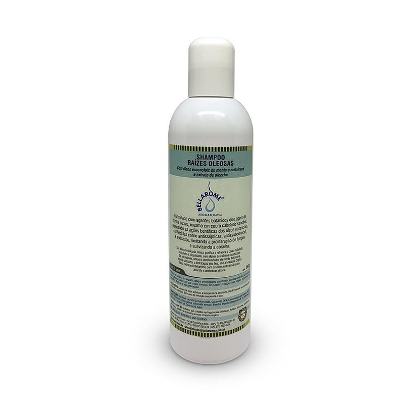 Shampoo Raízes Oleosas - 240ml  - Bellarome Aromaterapia