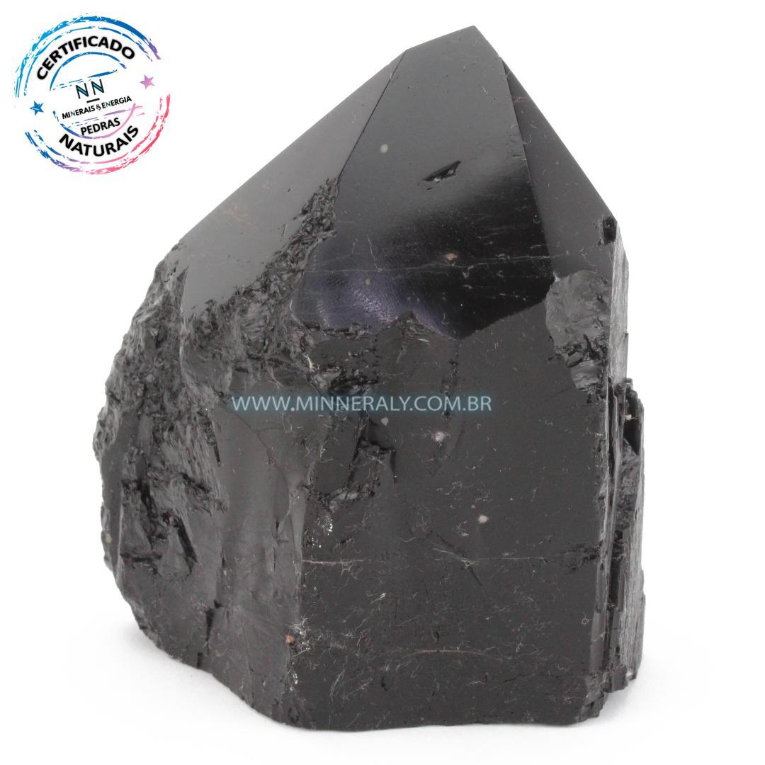 Ponta Geradora de Turmalina Preta (Negra) in Natura (0,736kg; 11,1cm) #NN253