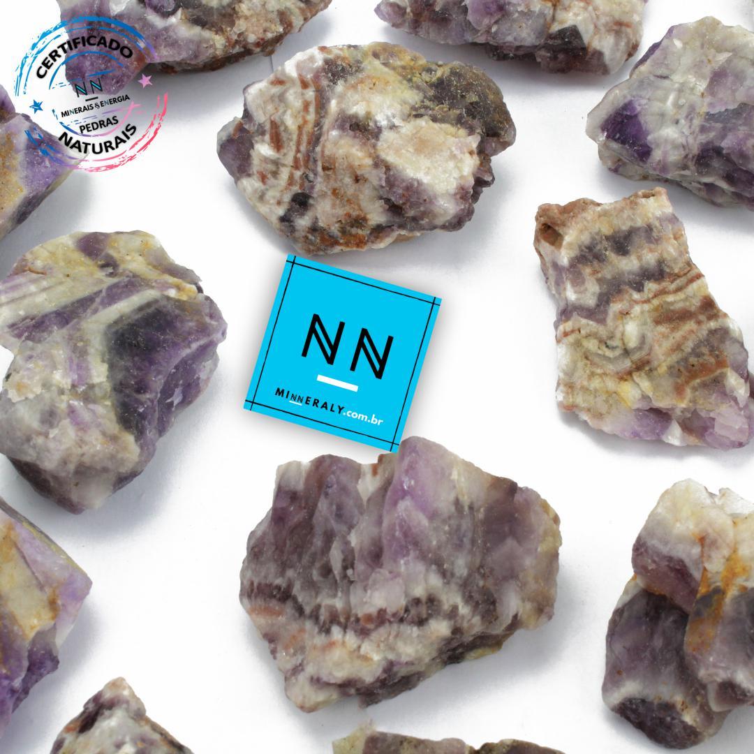 Ametista Chevron (quartzo) IN Natura BRUTA/PECA