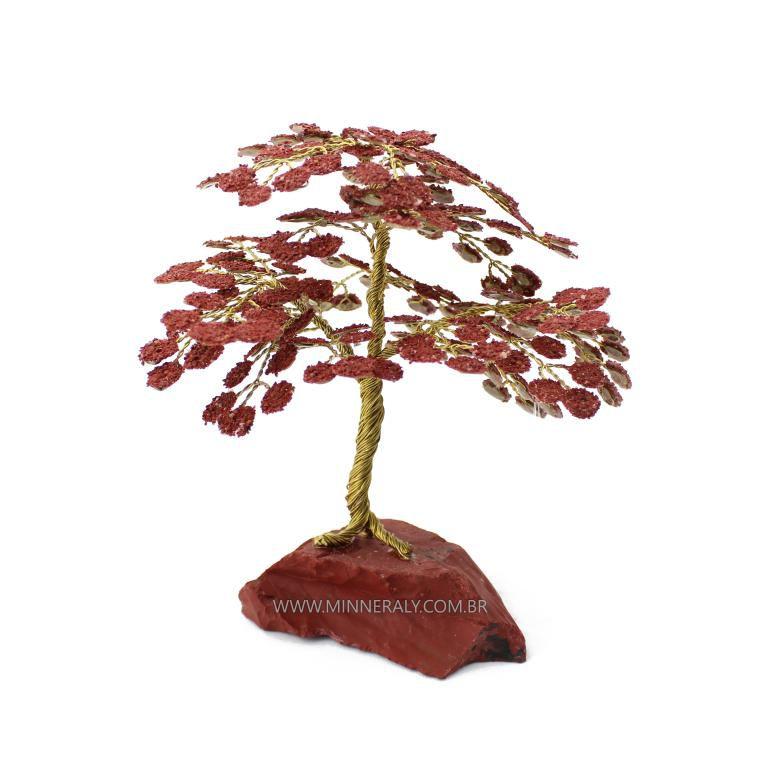 Árvore de Jaspe Vermelho in Natura (0,900kg; 25,0cm)