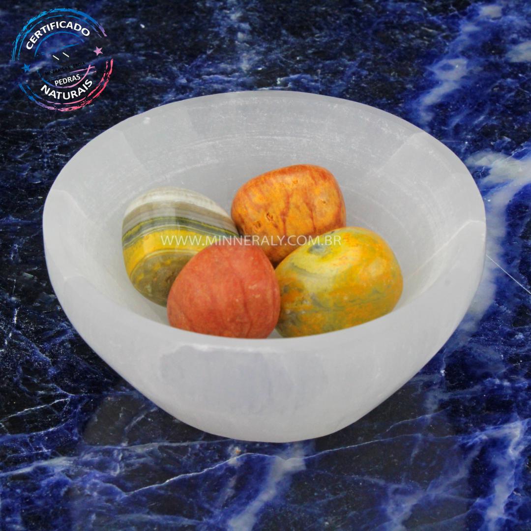 Bowl de Selenita Branca in Natura