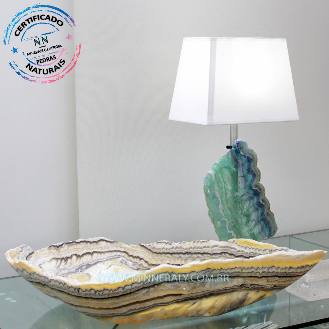 Bowl de Aragonita Zebrada in Natura (8,010kg 12,0cm) #NN101