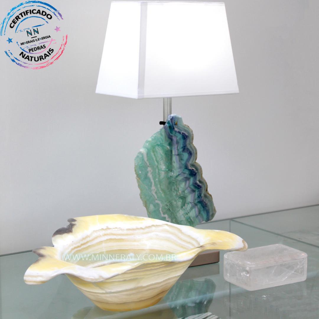 Bowl de Aragonita Zebrada in Natura (4,585kg 12,0cm) #NN106