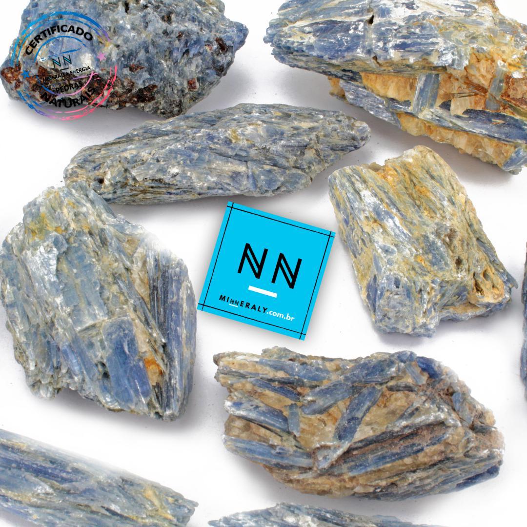 Cianita Azul (Espada do Arcanjo Miguel ou Distênio) com Inclusão de Quartzo in Natura Bruta/Peça