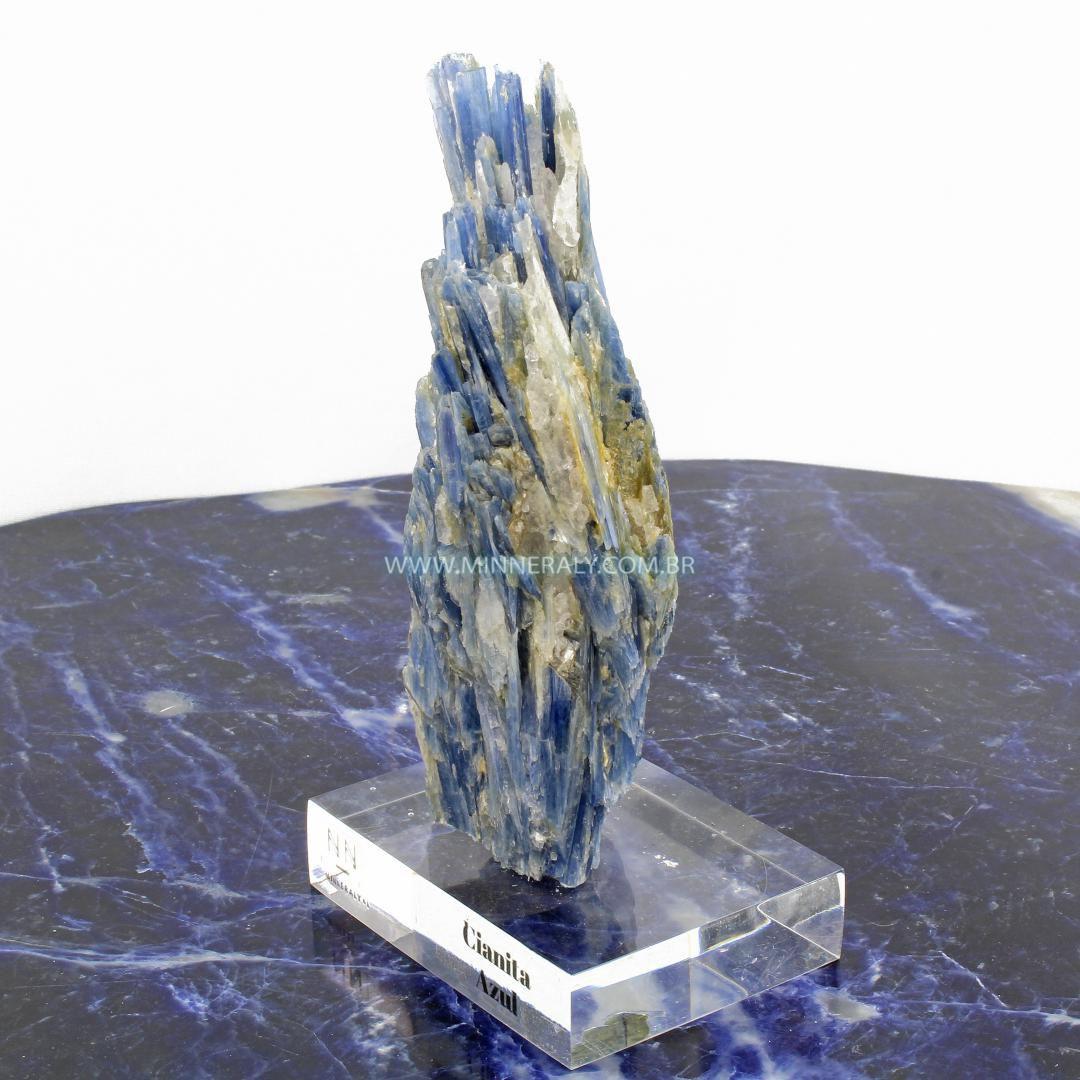 Cianita  Azul in Natura Clear.Collection #NN103