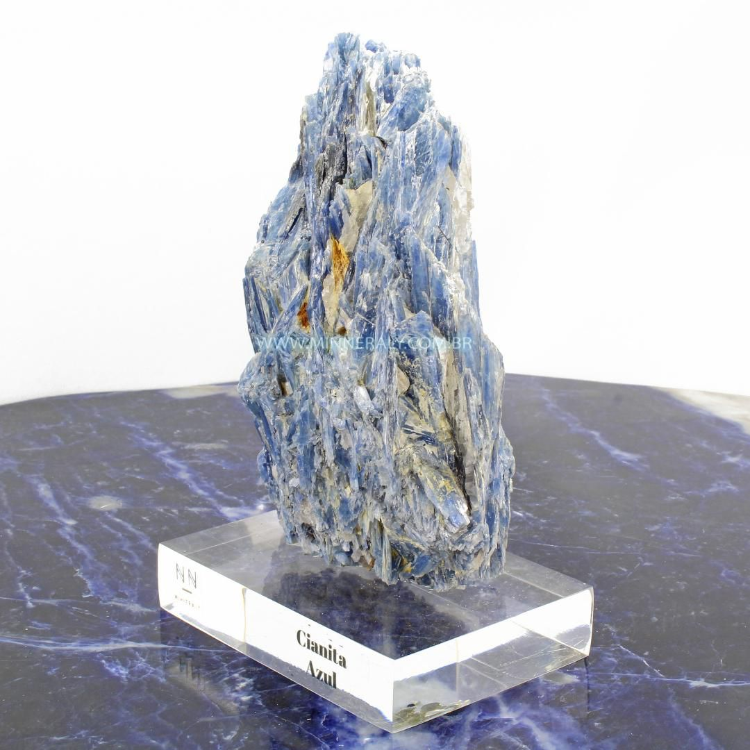 Cianita  Azul in Natura Clear.Collection #NN106