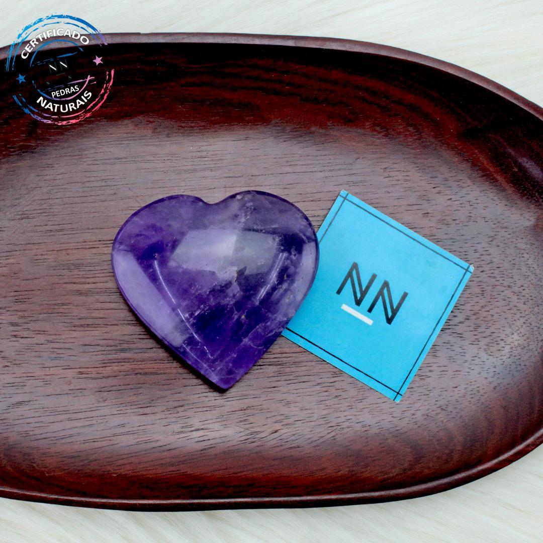 Coração de Ametista in Natura #NN101