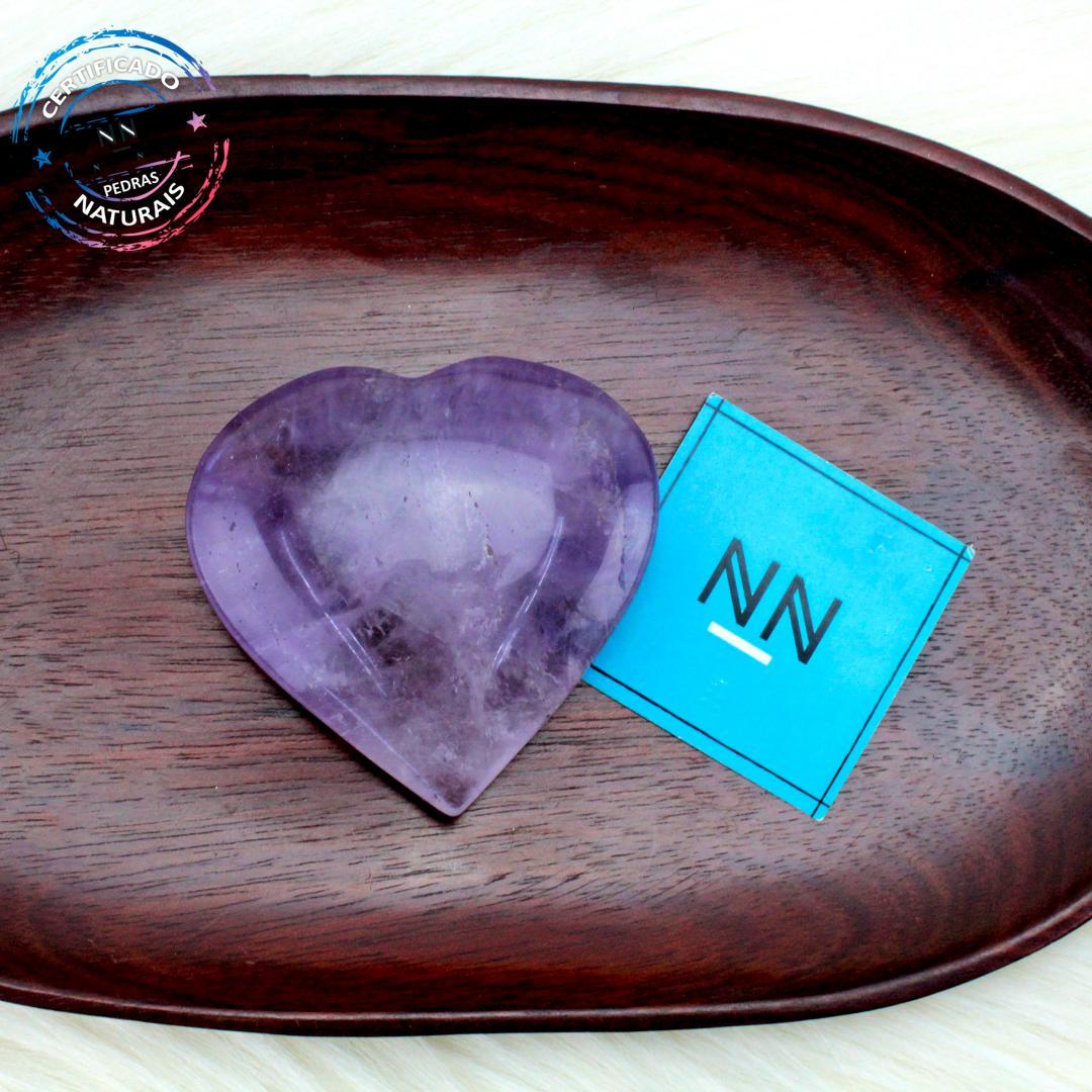Coração de Ametista in Natura #NN104