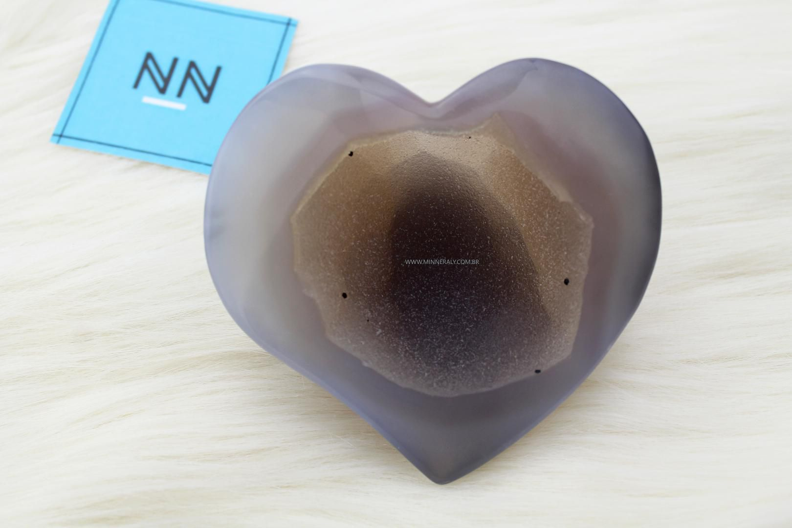 Coração de Geodo de Ágata in Natura #NN132
