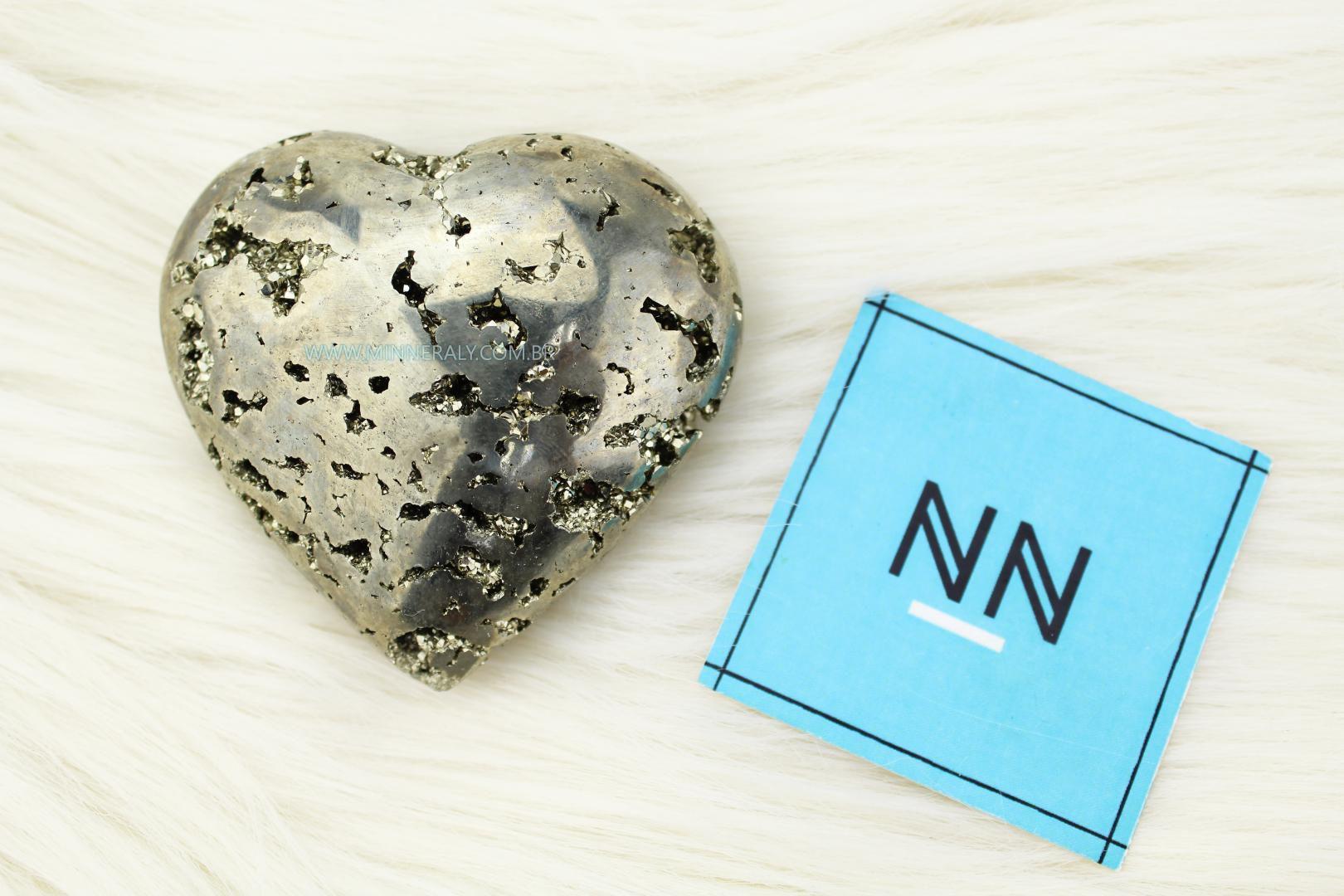 Coração de Pirita in Natura #NN126