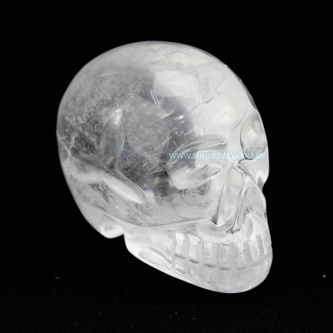 Crânio de Quartzo ou Cristal in Natura #NN104