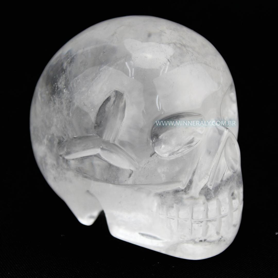 Crânio de Quartzo ou Cristal in Natura
