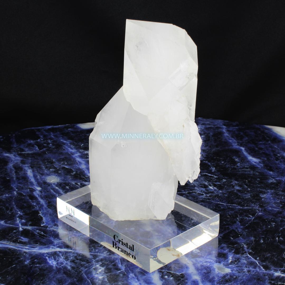 Drusa de Quartzo ou Cristal Branco in Natura Clear.Collection (1,250kg; 15,8cm) #NN156