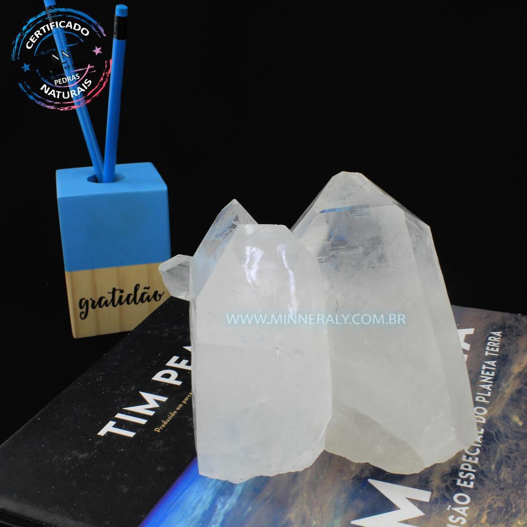 Drusa de Quartzo ou Cristal Branca in Natura em Bruto (1,238kg; 8,3cm) #NN111
