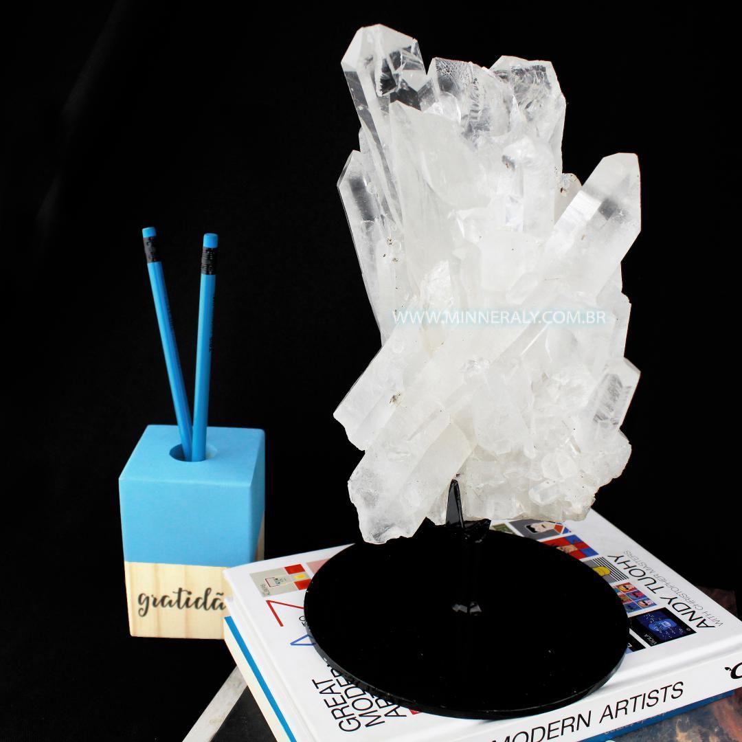 Drusa em Cristal Metal.Collection #NN101