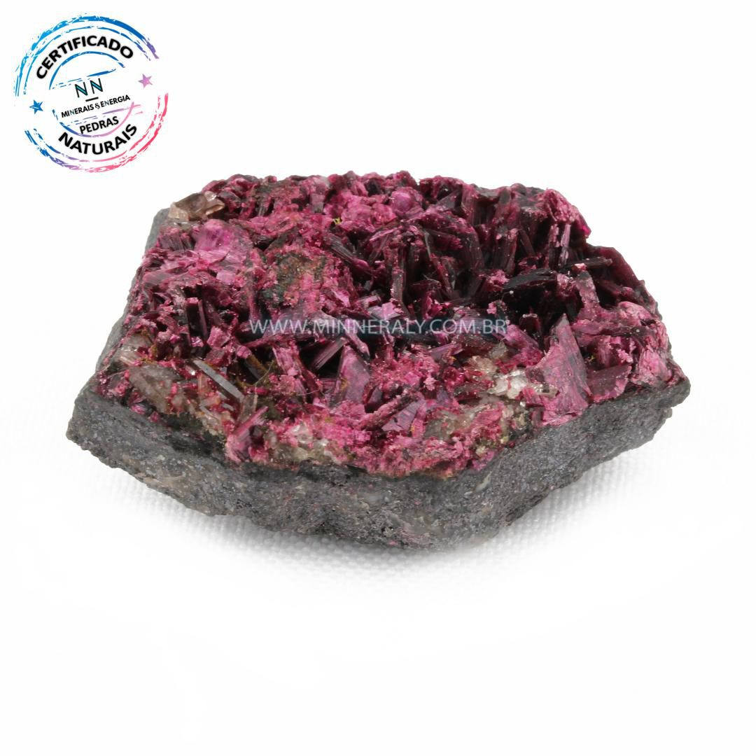Eritrita ou (Explosão de Cobalto) in Natura (0,030kg; 1,8cm) #NN315