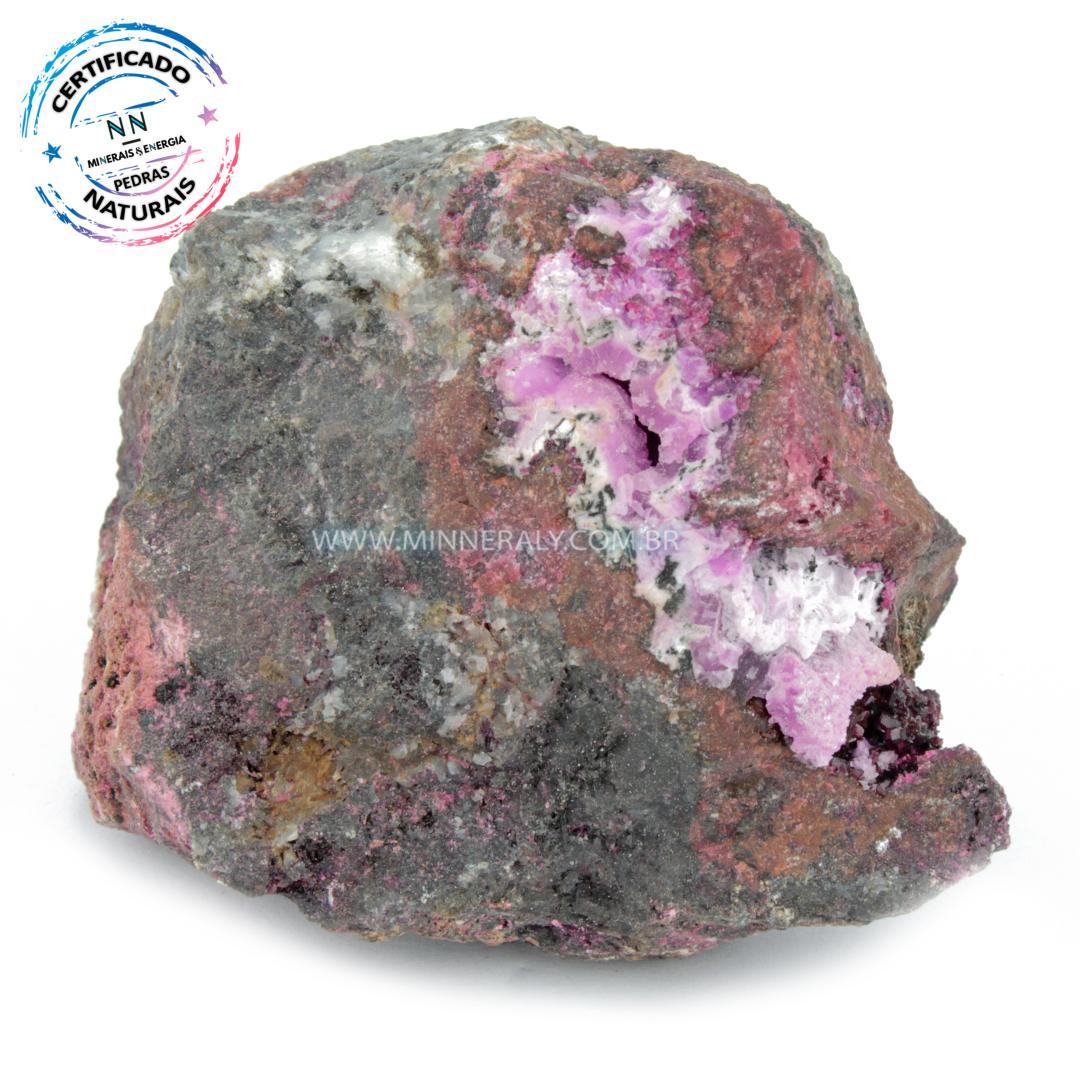 Eritrita ou (explosao de Cobalto) IN Natura (0,242KG; ALT: 5,8CM; COMP: 7,0CM; LARG: 4,9CM)
