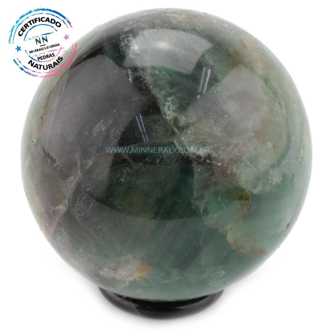 Esfera de Fluorita ARCO-ÍRIS IN Natura (0,572KG; Diam: 7,5CM)