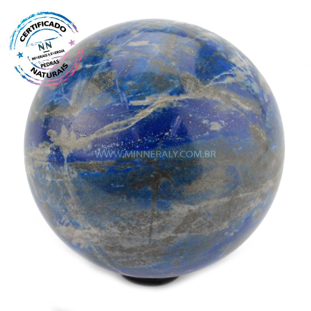 Esfera de Lápis-lazúli in Natura (1,172kg; 9,1cm) #NN175