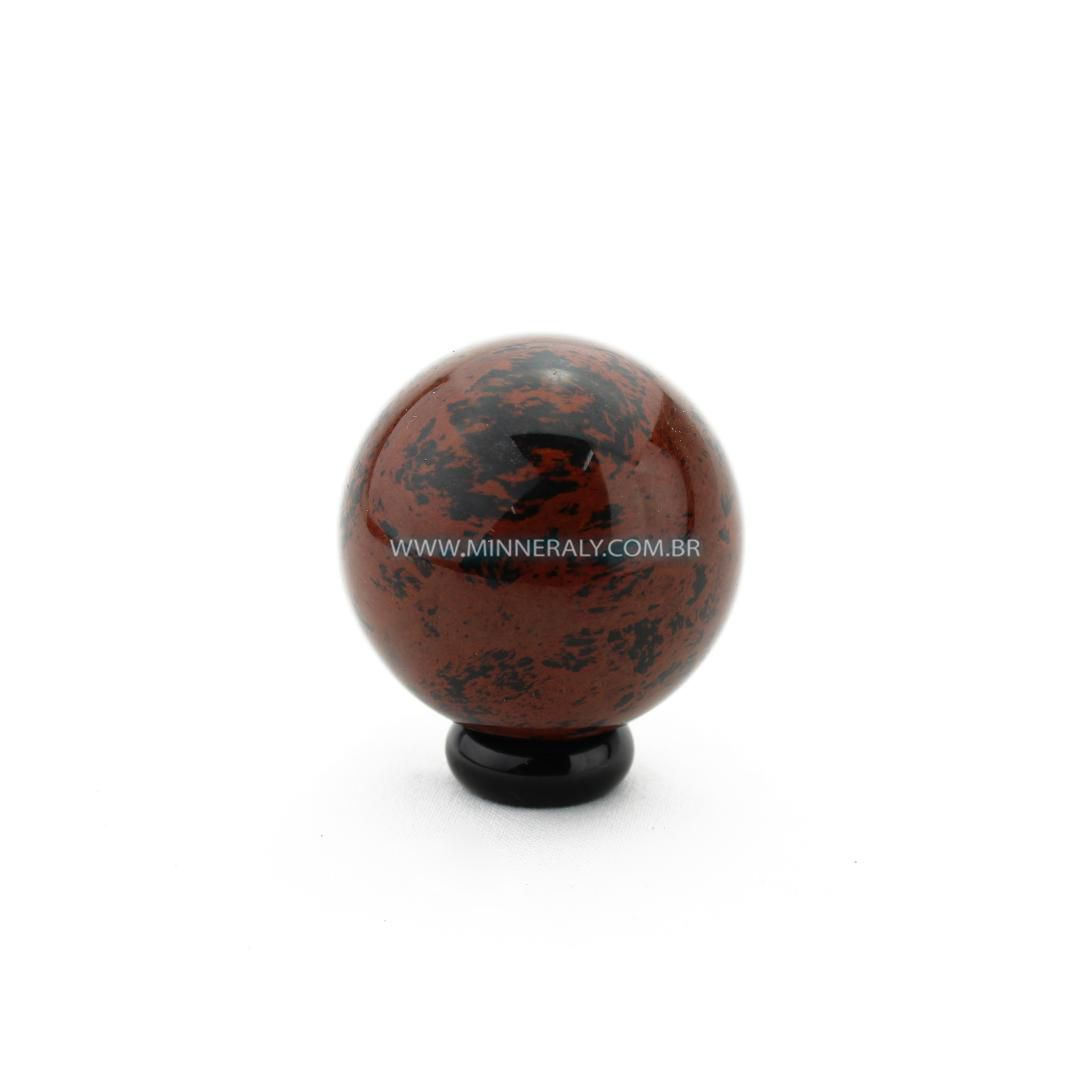 Esfera de Obsidiana Marrom in Natura #NN101